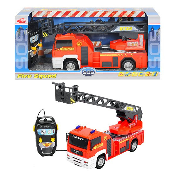 Masina pompieri cu telecomanda 2314026 Dickie foto mare