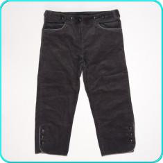 DE FIRMA → Pantaloni ¾ dama, catifea reiata, moderni, LA REDOUTE → femei | m. 38 - Pantaloni dama La Redoute Creation, Culoare: Gri, Trei-sferturi