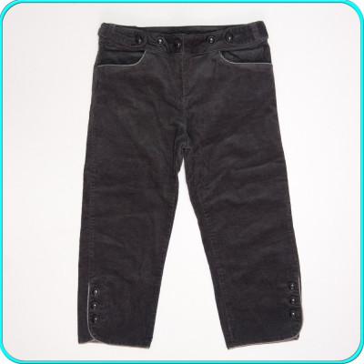 DE FIRMA → Pantaloni ¾ dama, catifea reiata, moderni, LA REDOUTE → femei | m. 38 foto