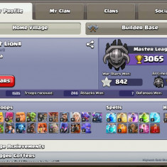 Vand cont clash of clans th 10