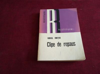 CLIPE DE REPAUS - RESTITUIRI foto