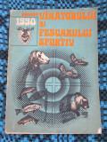 ALMANAHUL VANATORULUI SI PESCARULUI SPORTIV 1990 (NUMEROASE ILUSTRATII!)
