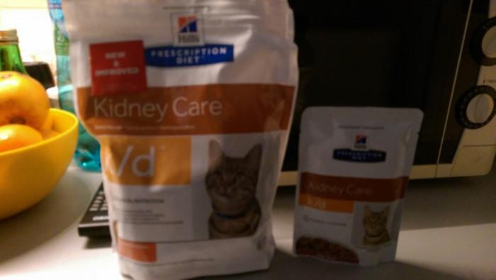 Mancare uscata pentru pisici K/d, plic 400 g. foto mare