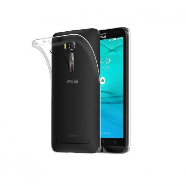 Husa de protectie ultraslim pentru Asus Zenfone Go 2016 ZB500KL, transparent foto mare