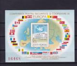 ROMANIA 1983 LP 1086 CSCE MADRID COLITA NEDANTELATA MNH, Nestampilat