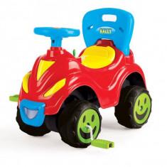 Masina cu volan si pedale Rally 2 in 1 - Dolu