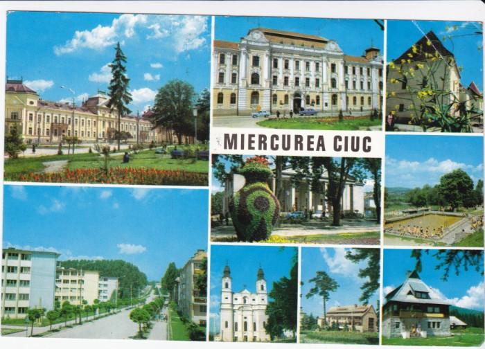 CARTE POSTALA , MIERCUREA CIUC , 1970 foto mare