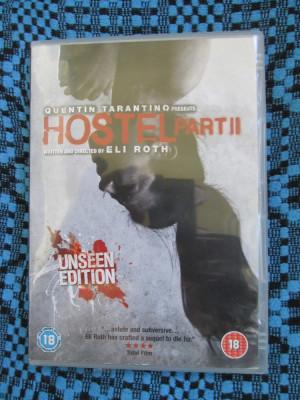 HOSTEL PART II - QUENTIN TARANTINO (1 DVD FILM HORROR GROAZA - CA NOU!!!) foto