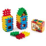 Set cuburi tip vafa 24 de piese - Set de constructie
