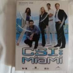 Csi Miami - season 1 - Film serial Altele, Crima, DVD, Altele