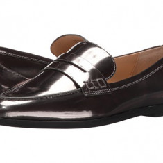 Michael Kors Connor Loafer Gunmetal - Pantof dama Michael Kors, Culoare: Negru, Marime: 38.5, Cu talpa joasa
