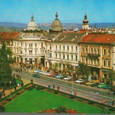 CPI (B8998) CARTE POSTALA - CLUJ-NAPOCA. PIATA LIBERTATII - Carte Postala Transilvania dupa 1918, Necirculata, Fotografie
