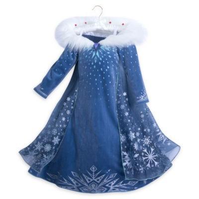 Costum/Rochie Elsa Deluxe Frozen New foto mare