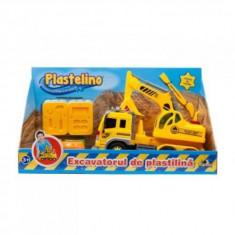 Excavatorul de Plastelina - Jocuri arta si creatie Noriel
