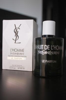 Parfum Original Yves Saint Laurent La Nuit de L'Homme Le Parfum 100 ml Tester foto