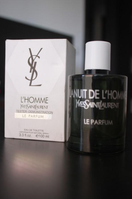 Parfum Original Yves Saint Laurent La Nuit de L'Homme Le Parfum 100 ml Tester foto mare