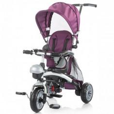 Tricicleta Maverick Purple - Tricicleta copii Chipolino