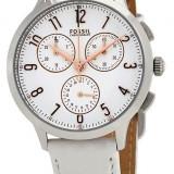 Fossil CH4000 ceas dama nou 100% original. Garantie.In stoc - Livrare rapida., Casual, Quartz, Inox, Piele, Cronograf