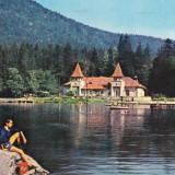 CARTE POSTALA TUSNAD BAI LACUL CIUCAS 1973 - Carte Postala Transilvania dupa 1918, Circulata, Fotografie
