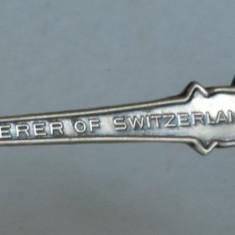 Lingurita ROLEX, argintata, de colectie Bucherer of Switzerland, Tacamuri