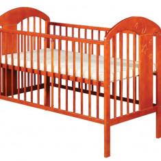 Patut din lemn pentru copii Klups RADEK VII cires, Cires - Patut lemn pentru bebelusi