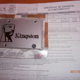 "SSD Kingston SSDNow UV400, 120GB, 2.5"", SATA III, SATA 3"