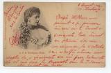 Principesa Maria doua carti postale, Circulata, Fotografie