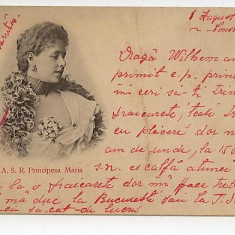 Principesa Maria doua carti postale
