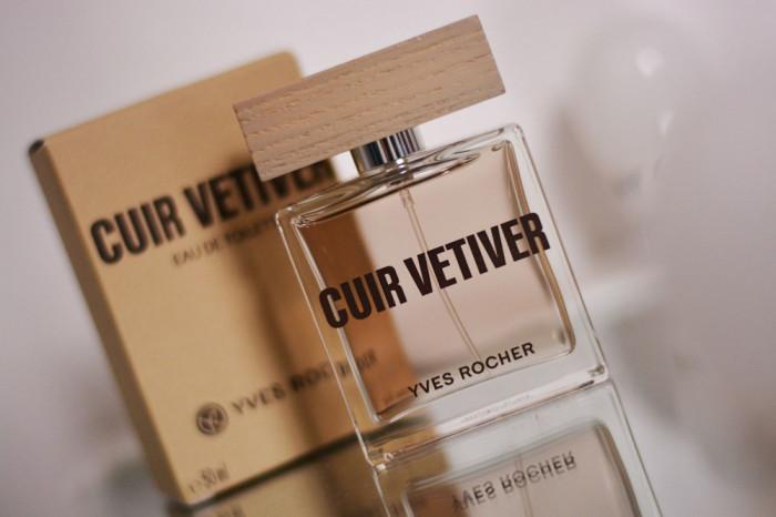Apă de toaletă CUIR VETIVER Yves Rocher