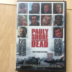 Pauly Shore este mort Pauly Shore Is Dead film comedie vedete usa movie dvd 2003, Romana