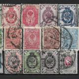 Lot timbre Rusia, Stampilat