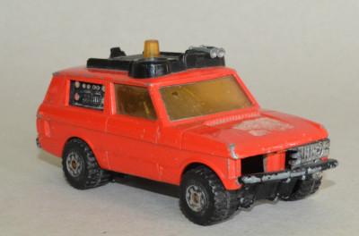 Macheta Matchbox Speed Kings Transporter K- 64 Range Rover (deteriorat) foto
