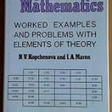 N.v. kopchenova computional mathematics - Carte Matematica