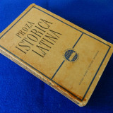 Proza istorica latina
