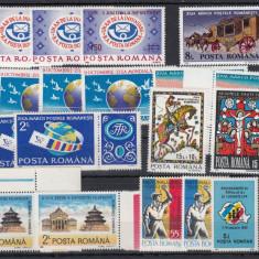 ROMANIA 1978/1992, LOT TIMBRE MNH - Timbre Romania, Nestampilat