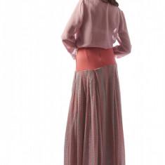 Camasa dama cu slituri mov - Carmen Grigoriu