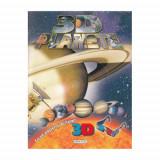 3D Planete - Carte de colorat