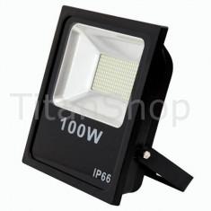 Proiector Led 100W IP65 Alb Rece - Corp de iluminat, Proiectoare