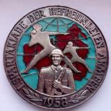Spartakiade der befreundeten Armeen, 1958, Europa