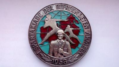 Spartakiade der befreundeten Armeen, 1958 foto
