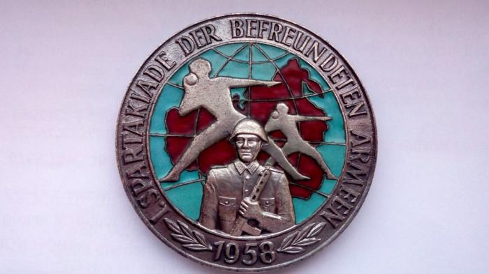 Spartakiade der befreundeten Armeen, 1958
