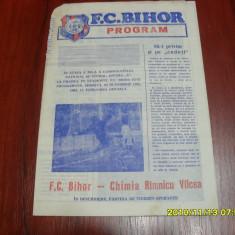 Program FC Bihor - Chimia Rm. vilcea - Program meci