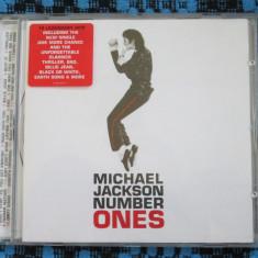 MICHAEL JACKSON - NUMBER ONES (1 CD ORIGINAL ALBUM MUZICA POP - CA NOU!!!)