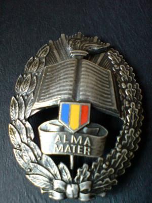 Alma Mater - Academia Militara, cu numar de serie foto