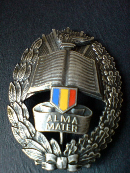 Alma Mater - Academia Militara, cu numar de serie