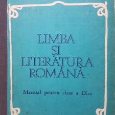 LIMBA SI LITERATURA ROMANA MANUAL PT CLASA A IX-A Gheorghiu, Nicolae, Manolescu