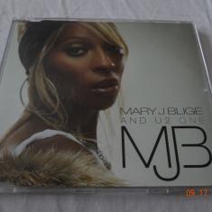 Mary J Blige feat U2 - One - cd maxisingle - Muzica R&B Altele