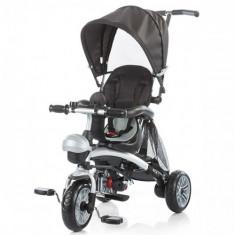 Tricicleta Maverick Black - Tricicleta copii Chipolino