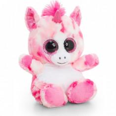 Jucarie de plus Animotsu Unicorn 25 cm - Roz cu alb - Jucarii plus Hasbro