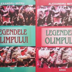 LEGENDELE OLIMPULUI - Alexandru Mitru (2 volume) - Carte mitologie